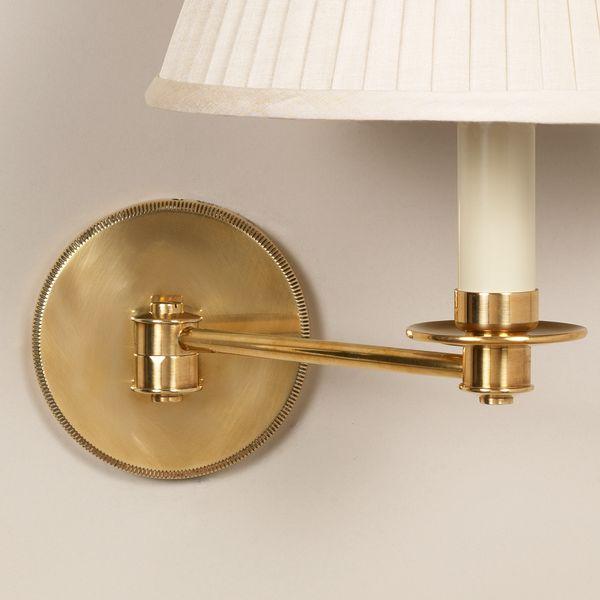 Cromer Swing Arm Wall Light Vaughan, Brass Swing Arm Wall Lamp Uk