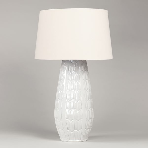 Acanthus Crackled Vase Table Lamp Vaughan Designs