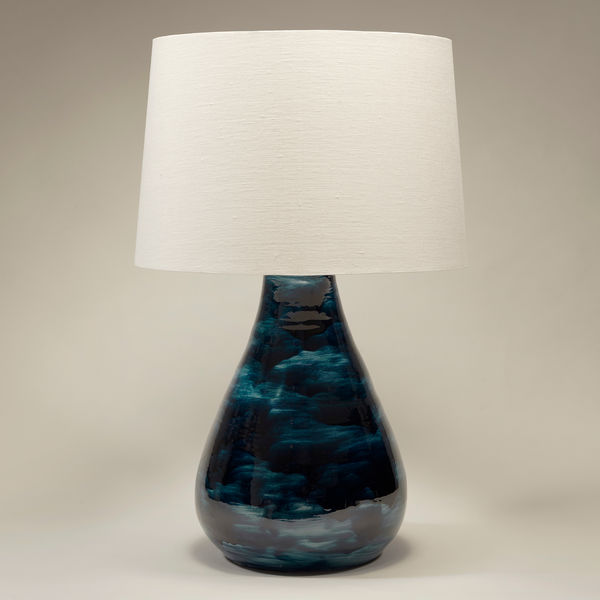 Hanford Table Lamp Vaughan Designs, Round Table Hanford